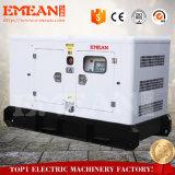 Generador Diesel propulsado con enfriamiento líquido 48kW de bajo ruido