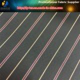 Sofortiger Waren-Polyester-Taft-Streifen gesponnenes Gewebe für Mann-Klage-Futter (S12.16)
