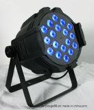 1개의 LED 동위 빛에 대하여 단계 가벼운 18*12W RGBWA 5