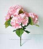 Flor artificial del Hydrangea para la decoración de la boda