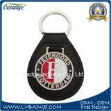Alta calidad Keychain de cuero de encargo para la promoción