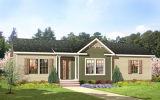 다른 작풍 녹색 물자 조립식 거주 조립식 가옥 집