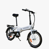 20 بوصة يطوي دراجة/دراجة كهربائيّة/دراجة مع بطارية/[ألومينوم لّوي] [موونتين بيك]/[بتّري ليف] [إإكستر-لونغ]