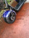 самокат 1000W Citycoco Harley с двойными местами