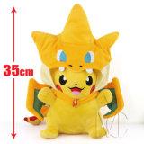 Le personnage de dessin animé de promotion a personnalisé le jouet de peluche bourré par Pikachu