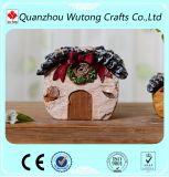 Pequeños crisoles de flor decorativos baratos de interior para el presente del día de tarjeta del día de San Valentín
