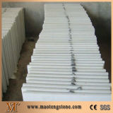 Белая мраморный плитка