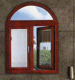 La finestra di alluminio del blocco per grafici di prezzi di fabbrica della Cina progetta la finestra semplice dell'arco