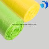 Печатание мешков отброса оптового Biodegradable HDPE цветастое плоское изготовленный на заказ на пользе мешка погани крена ежедневной