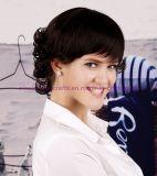 方法短い様式の女性のための総合的な毛のかつら