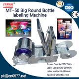 Grande bottiglia di Semi-Automaitc ed etichettatrice del barilotto (MT-50)