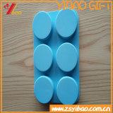 Plateau de glaçon de silicones de catégorie comestible de FDA à vendre