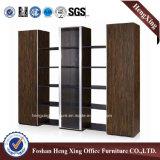 Aluminiumglastür-Büro-Bücherschrank-moderne Melamin-Büro-Möbel (HX-6M282)