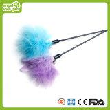 Het kleurrijke Speelgoed van de Kat van de Staaf van de Pluche