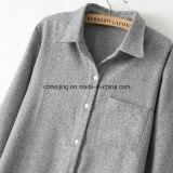 Camicia grigia del `S Cotton&Woolen delle donne