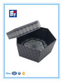 Kundenspezifischer Firmenzeichen-Papppapier-Geschenk-verpackenkasten mit Fenster