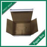 Rectángulo de encargo inferior automático barato del cartón del envío