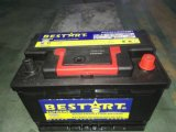 57531 fabricante de la batería de coche de 12V 75ah frecuencia intermedia DIN75