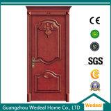 Portello di legno solido interno di alta qualità per le Camere