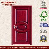Puerta compuesta económica del MDF de la fábrica (GSP6-009)