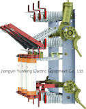 Yfn5-with que pone a tierra el interruptor de rotura de carga del alto voltaje del cuchillo