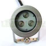 3W/9W 316 Stainless Steel IP68 LED Outdoor Underwater Light