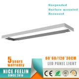 instalación montada superficie 36W AC100-240V 100lm/W de la luz del panel de los 30*120cm LED