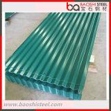 Colorare gli strati del tetto/mattonelle di tetto d'acciaio ondulati rivestiti
