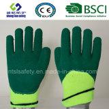 Перчатки безопасности латекса пены 3/4 перчатки тепла Coated