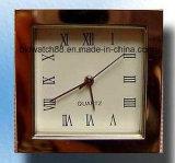 Миниые вставки часов кварца случая квадрата часов с движением японии