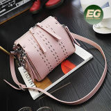 2017의 Handbag 긴 어깨끈 Sy8382를 가진 최신 판매 장식 못 끈달린 가방 형식 숙녀