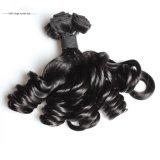 9A一等級の卸し売り人間の毛髪の拡張インドのバージンHairhair