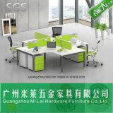 Nuevo diseño de 120 grados Workstation Muebles de oficina con pared de Partiton