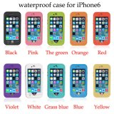 2017 New Waterproof Mobile / Cell Phone Case pour iPhone 6