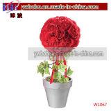 Presente dos partidos de casamentos dos Valentim dos vidros do coração do presente de aniversário (W2027)