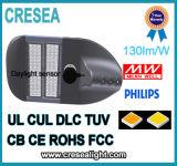 Iluminação de estacionamento do cUL do UL luz de rua do diodo emissor de luz Pólo de 80 watts