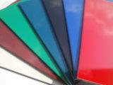El panel acanalado de los plásticos de aluminio