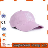 Выдвиженческая тяжелая бейсбольная кепка хлопка щетки с вышивкой логоса