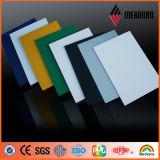 Materiale composito di alluminio dell'interno Acm (franchi rendono incombustibile)