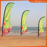 Drapeau environnemental d'indicateur de plage de vol de polyester