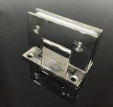 平らなステンレス鋼ガラスクランプ90度のシャワーのドアの適切なヒンジ