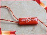 Étiquette en plastique de joint de dispositif de fixation de chaîne de caractères d'étiquette de bijou