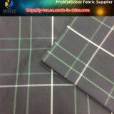 白いですかグリーン・ライン、黒い地上衣服(YD1175)のためのヤーンによって染められるポリエステル格子縞ファブリック