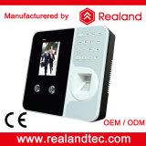 De Biometrische Machine van de Erkenning van het Gezicht van Realand met de Software van het Beheer van de Opkomst van de Tijd