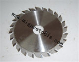 A circular de trabalho de madeira do Tct viu a lâmina para a estaca ferrosa do metal