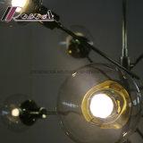 Светильник самомоднейшего декоративного канделябра формы ветвей привесной