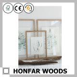 بساطة أسلوب مستطيلة خشبيّة صورة صورة إطار لأنّ مكتتبة زخرفة