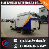 Alto pequeño coche eficiente del barrendero de calle