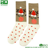 China-Großhandelsren-Weihnachtsglückliche Socken