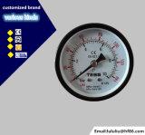 manometro nero poco costoso dell'intelaiatura di 40mm